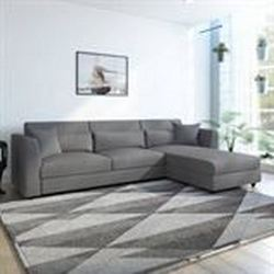 Bharat-Lifestyle-Evelyn-Fabric-6-Seater-Sofa-Finish-Color-Dark-Grey