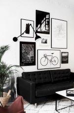 Black And White Modern Home Decor Idea