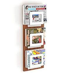 Bluewud-Charlie-Magazine-Holder-Rack-Cum-Newspaper-Stand