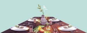 Dining-Table-illustration