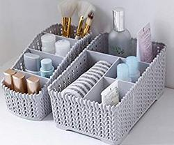 Diswa-2pcs-Multi-Grids-Desktop-Sundries-Storage-Basket-Plastic-Makeup-OrganizerDiswa-2pcs-Multi-Grids-Desktop-Sundries-Storage-Basket-Plastic-Makeup-OrganizerDiswa-2pcs-Multi-Grids-Desktop-Sundries-Storage-Basket-Plastic-Makeup-OrganizerDiswa-2pcs-Multi-Grids-Desktop-Sundries-Storage-Basket-Plastic-Makeup-Organizer