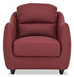 Durian-Blaze-Single-Seater-Sofa-for-Living-Room-Burgundy