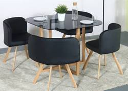 Flipkart-Perfect-Homes-Atiu-Metal-4-Seater-Dining-Set-Finish-Color-Black