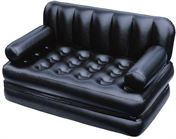 For-students-Air-sofa-cum-Bed-PVC-(Polyvinyl-Chloride)-3-Seater-Inflatable-Sofa-Color-Black