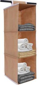 HomeStrap-Hanging-3-Shelf-Wardrobe-Organizer-Beige