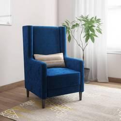 Kurlon-Wing-Fabric-1-Seater-Sofa-Finish-Color-Blue-flipkart