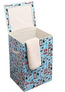 Kurtzy-Foldable-60-L-Laundry-Basket-for-Clothes-LargeMulticolour