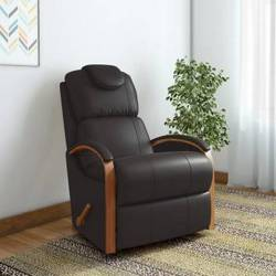 La-Z-Boy-Harbortown-Leatherette-Manual-Rocker-Recliners-Finish-Color-Brown