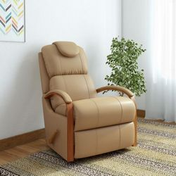 La-Z-Boy-Harbortown-Leatherette-Manual-Rocker-Recliners-Finish-Color-Camel