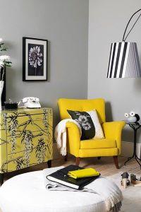 Living room geometrical pattern decor ideas