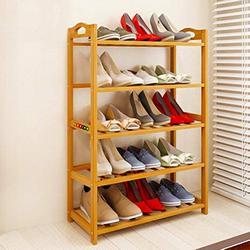 Livzing-5-Tier-Multiuse-Bamboo-Wooden-Shoe-Rack-Slipper-Stand-Chappal-Shelf-Household-Storage-Holder-Organizer