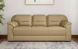 Muebles-Casa-Croma-Leatherette-3-Seater-Sofa-Finish-Color-Beige