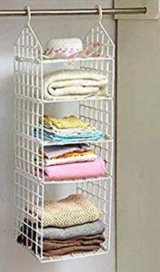 ORPIO-LABEL-5-Shelf-Folding-Hanging-Clothes-Storage-Racks-Dormitory-Closet-for-Students-Wardrobe-Closet-Shelves-Hanging-Organizer-Plastic-Storage-Holders-Racks