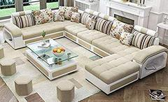 Quality-Assure-Furniture-Hardwood-9-Seater-Fabric-Sofa-Set-with-4-Puffy-Roland-Silver-and-Brown