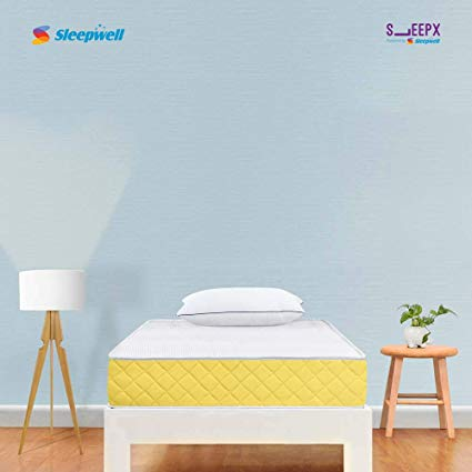 SleepX-URBAIN-by-Sleepwell-7-inch-Single-PU-Foam-Mattress