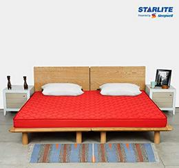 Starlite-Discover-by-Sleepwell-Firm-PAF-4-inch-Double-PU-Foam-Mattress