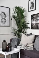 black and white decor idea