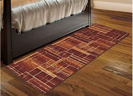 Cloth Fusion Premium Quality Made in Egypt Bed Runner Carpet for Bedroom 57x180 cm