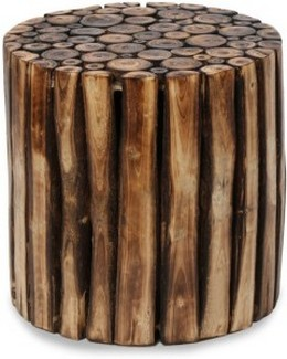 Craftspoint Solid Wood Side Table Finish Color Matte