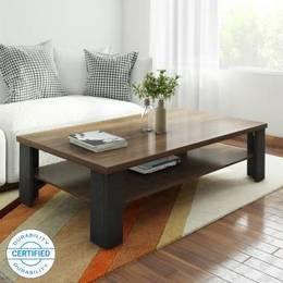 Crystal Furnitech Sigma Engineered Wood Coffee Table Finish Color wallnut wenge