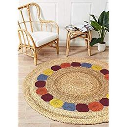 Decorative-DesignThe-Home-Talk-Jute-Braided-Round-Shape-Floor-Rug-Boho-Bedside-Runner-Carpet-for-Bedroom-Living-Room