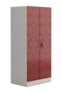 Godrej-Interio-Slimline-Fusion-2-Door-2-Shelf-Metal-Almirah-Finish-Color-Russet-and-Copper-Brown