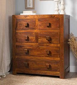 SheeSham-Wood-Chest-of-6-Drawers-Standard-Size-Brown