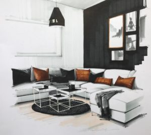 Nesting-Tables-in-the-living-room-illustration