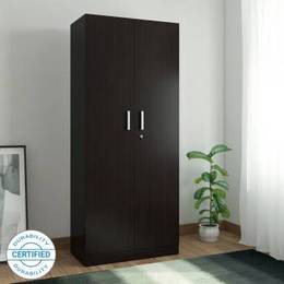 Spacewood-Optima-Engineered-Wood-2-Door-Wardrobe-Finish-Color-Natural-Wenge