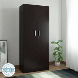 Spacewood-Optima-Engineered-Wood-2-Door-Wardrobe-Finish-Color-Natural-Wenge