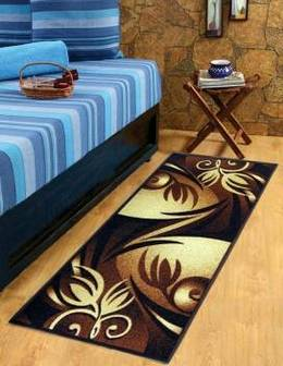 Sparklings-Brown-White-Chenille-Runner-carpet