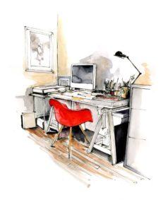 Study-Table-illustration