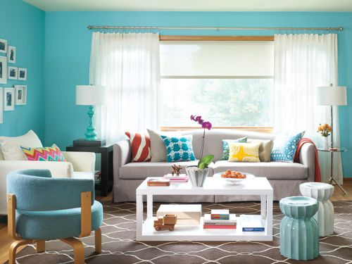 Turquoise-Living-Room-western-home-decor-ideas