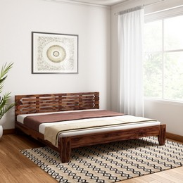 Vintej-Home-Moroni-Sheesham-Solid-Wood-King-Bed-Finish-Color-WALNUT