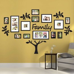 19-Piece-Picture-Frames-Eye-Catching-Collage-Family-Tree-Picture-Frame-Set-in-Black