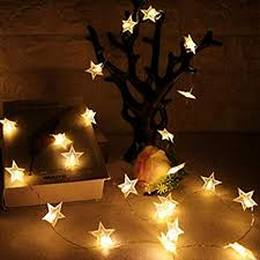20 star shape string lights for home decoration
