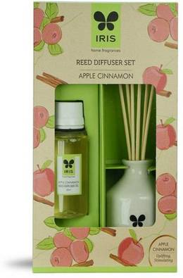 60 reed diffuser apple cinnamon home fragrances liquid iris original