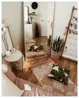 Big mirror decor ideas for teenage girls bedroom