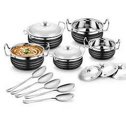 Classic Essential stainless handi set