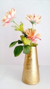 Handmade-Golden-Metal-Flower-Pot-Vase-for-Home-Decoration-Set-of-1