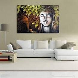 Inephos-unframed-buddha-canvas-painting