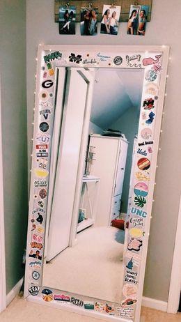 Mirror decor ideas for chic bedroom