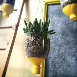 Plastic Bottle Hanging Vase 3