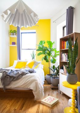 Smart Stylish Ideas for Dividing a Bed Area in a Studio