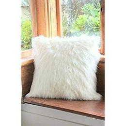 The-purple-tree-Faux-fur-cushion