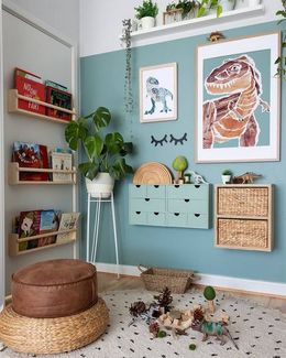 bedroom decor ideas inspiration from plants and pastel colors
