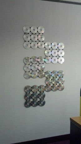 old CDs amazing decor hacks