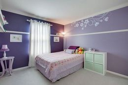 purple color combination palette for kids room interior and wall