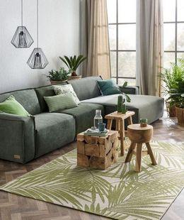 green color palette living room design ideas