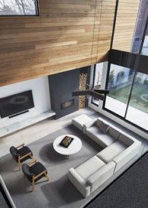 grey living decor and interior ideas